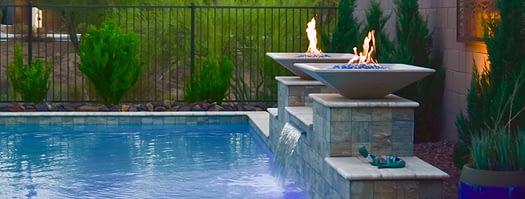 Designing A Swimming Pool Waterfall - Crystal Falls Pools